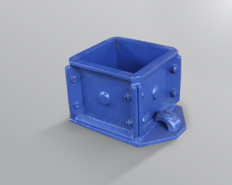 cetakan kubus beton